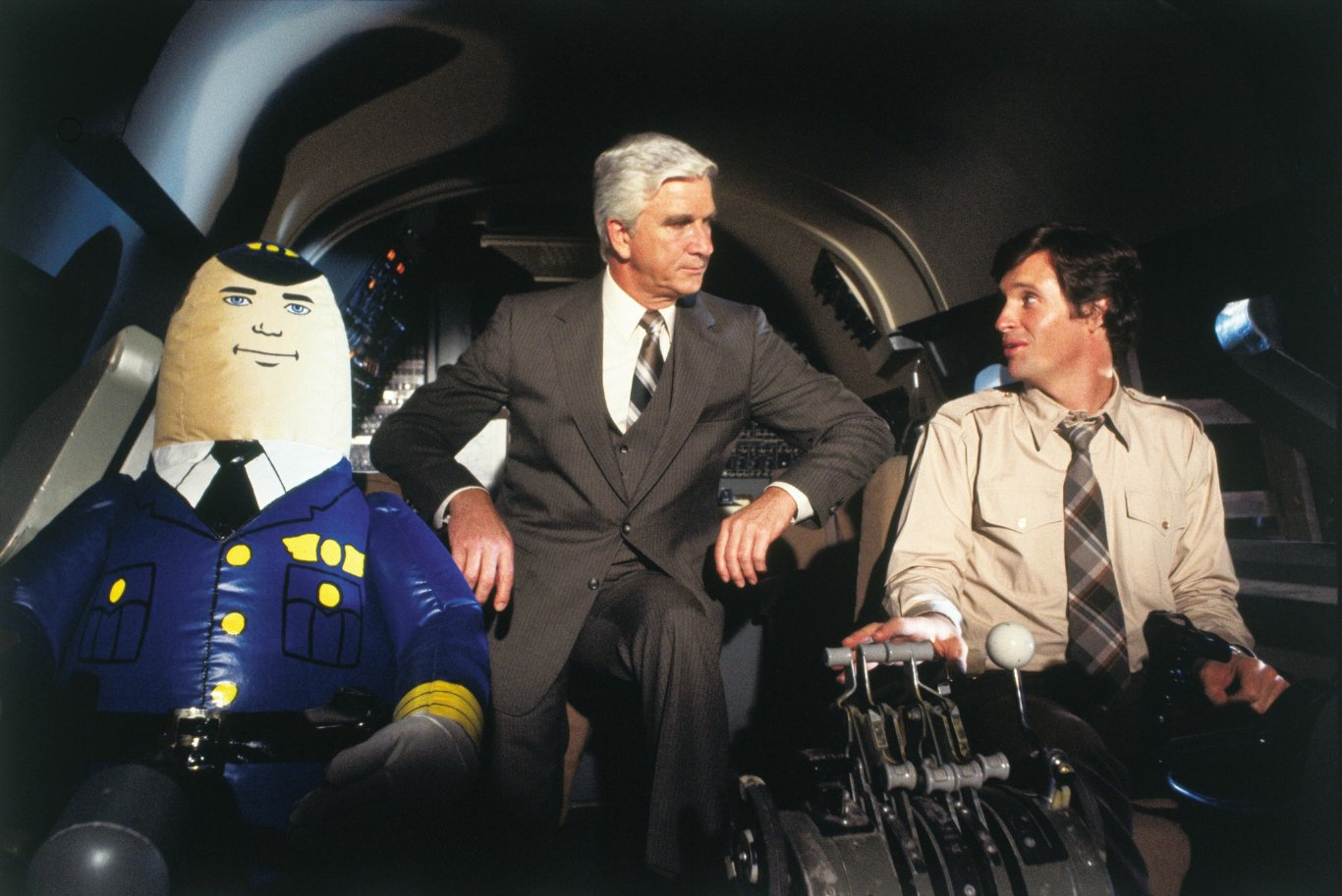 a discussion of the life and times of leslie nielsen by david riesen
