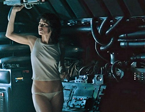 "Shot from the film ""Alien"""