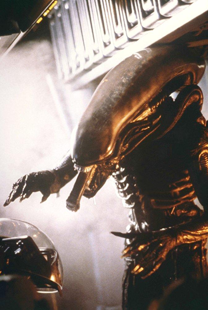 """Shot from the film """"Alien"""""""