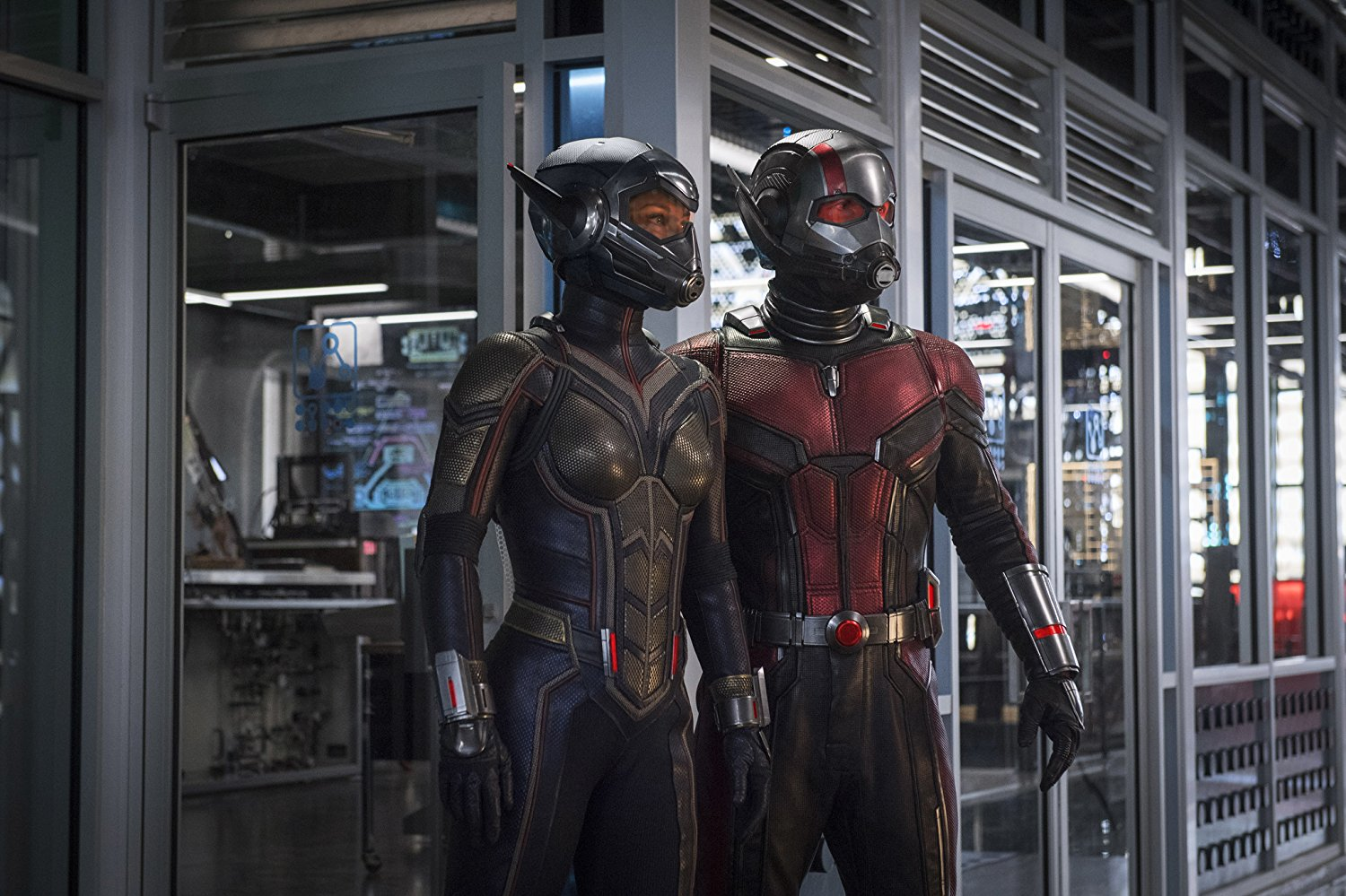 """Shot from the film """"Man-ant and Wasp"""""""