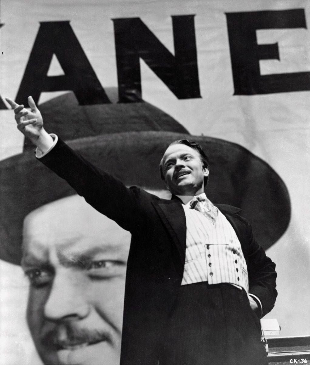 "Shot from the movie ""Citizen Kane"""