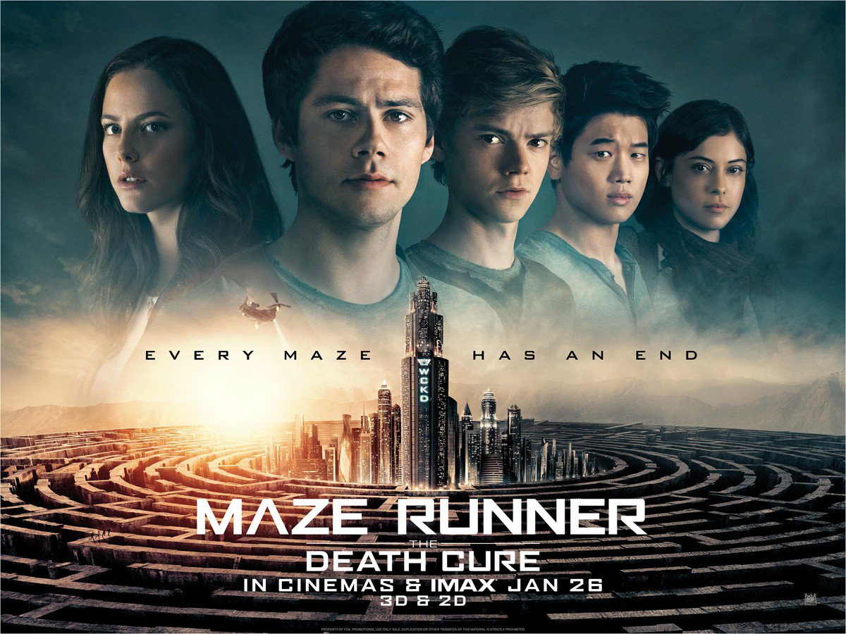 Maze Runner The Death Cure 2018 Review