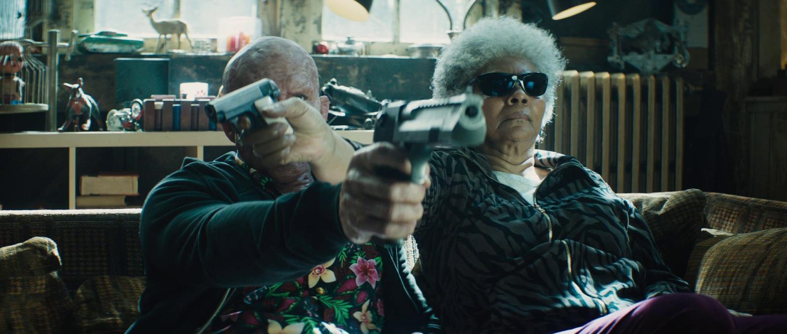 Кадр из фильма «Дэдпул 2»