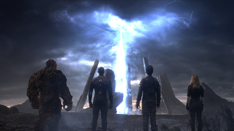 Кадр из фильма «Фантастическая четвёрка»