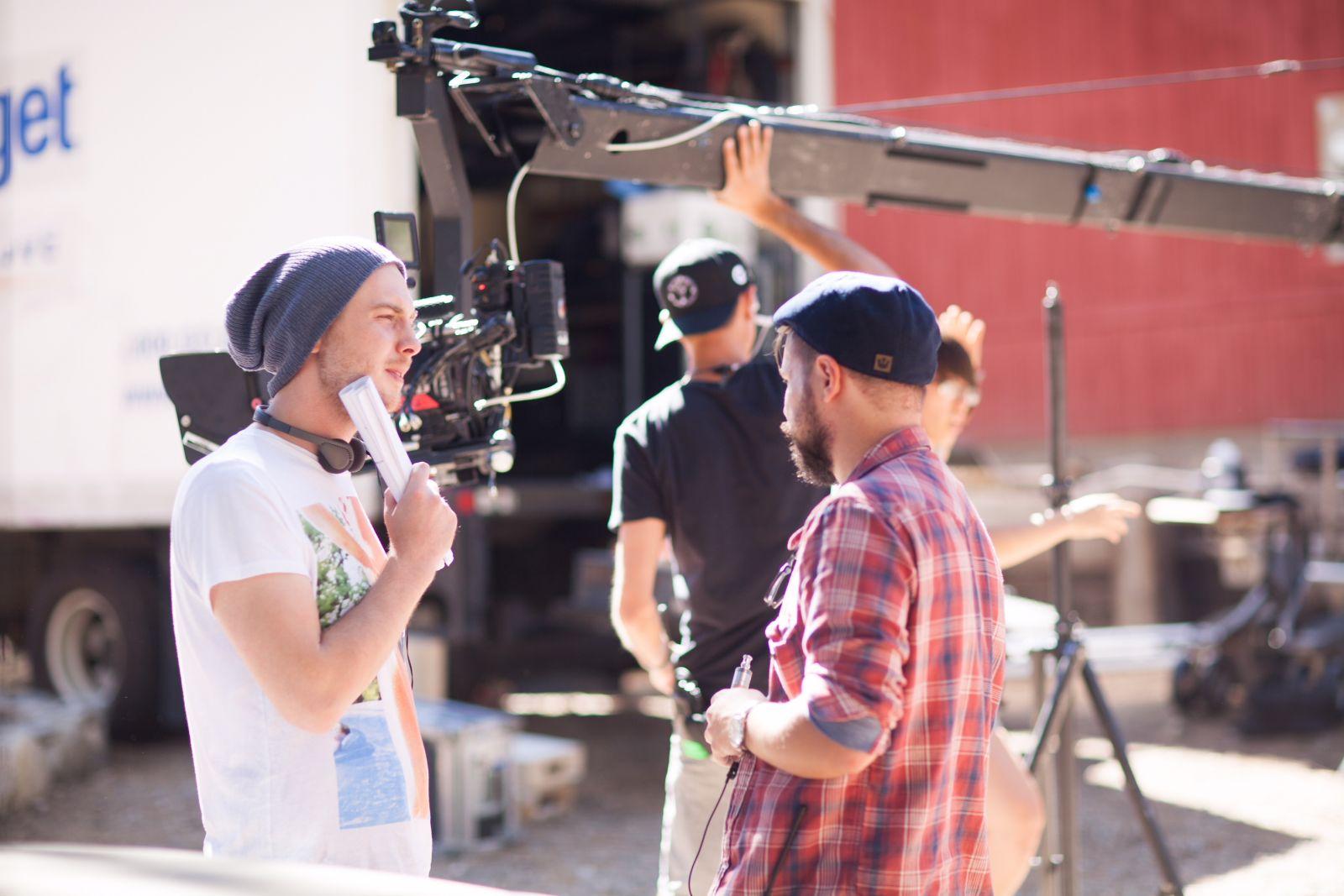 Фото со съемочной площадки фильма «Нерожденные»