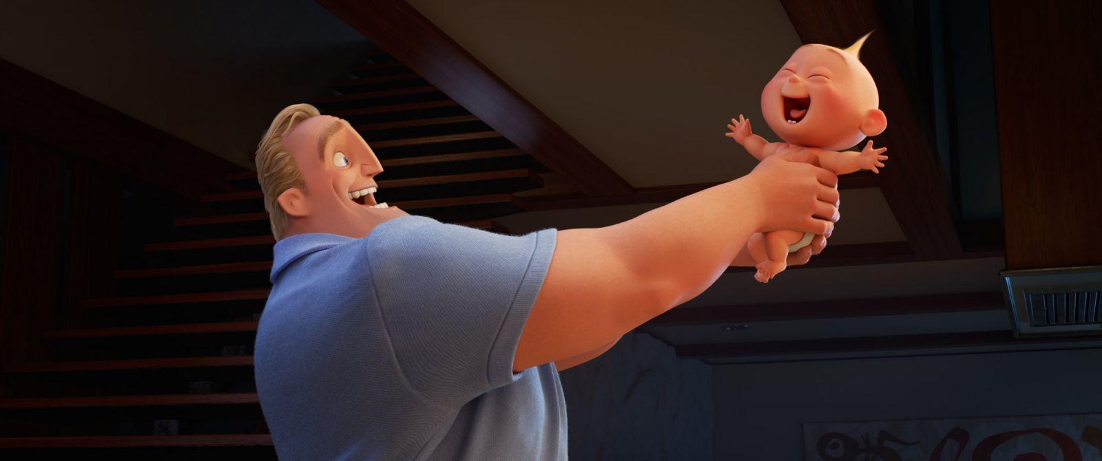 Кадр из мультфильма «Суперсемейка 2»