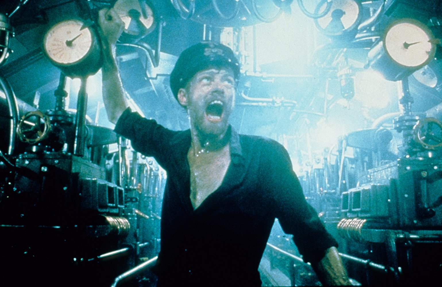 "Shot from the movie ""Submarine"""