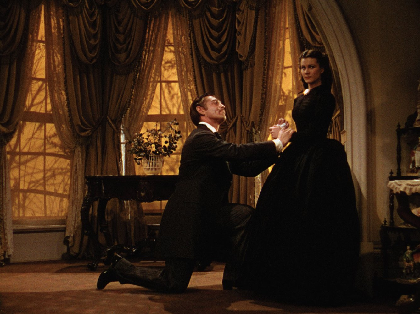 """Shot from the movie """"Gone with the Wind"""""""