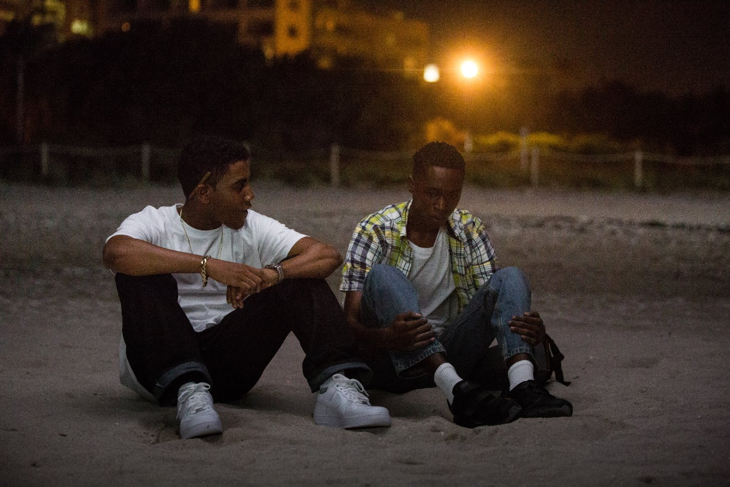 "Shot from the movie ""Moonlight"""