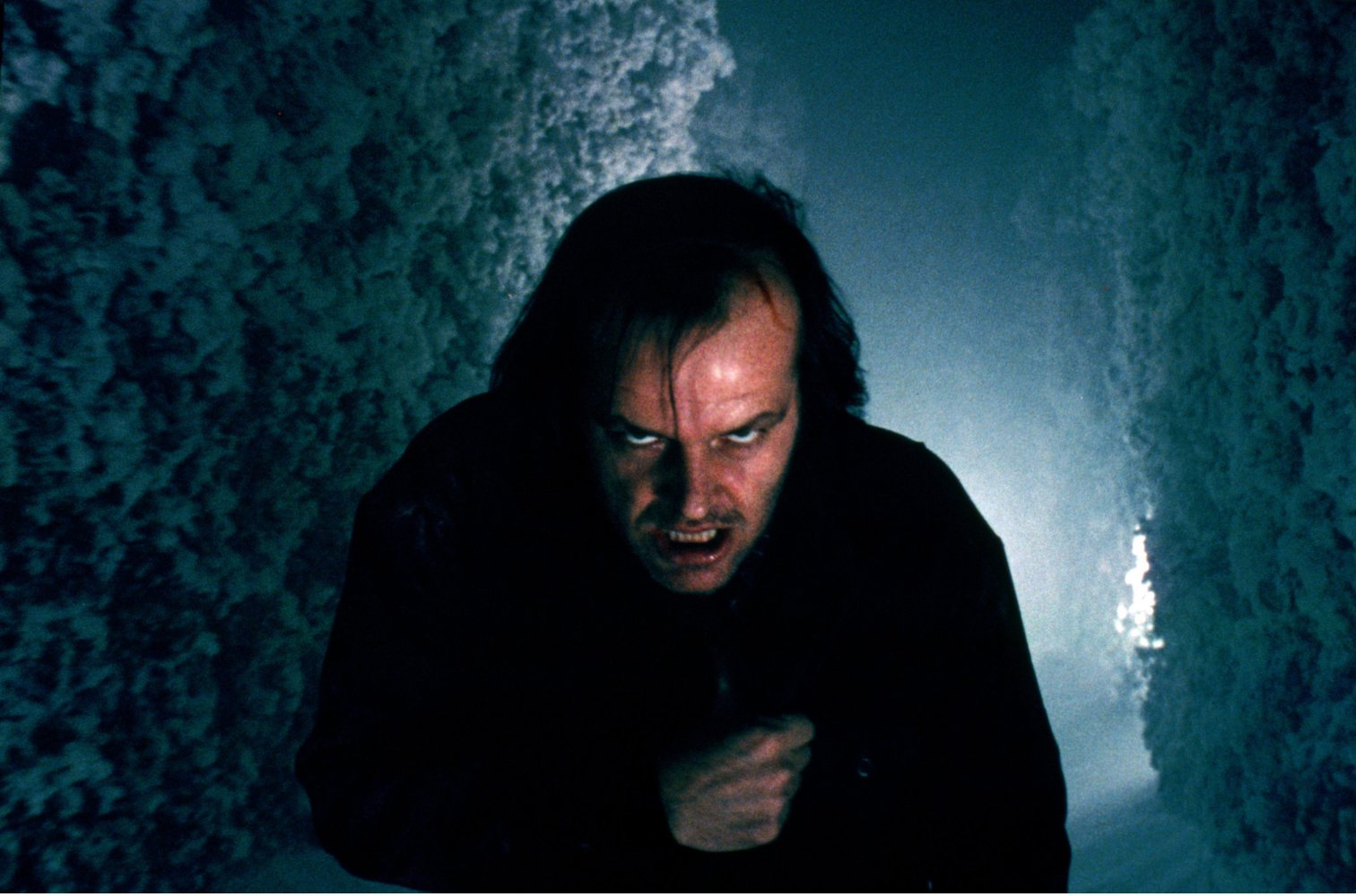 "Shot from the movie ""Shining"""