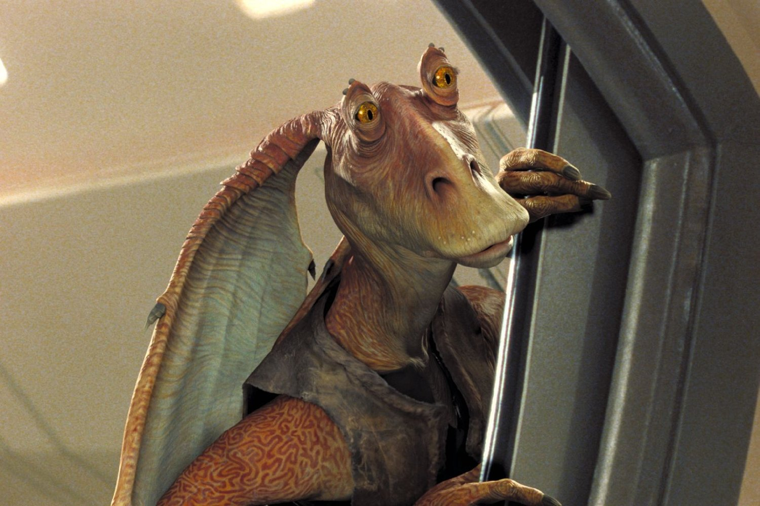 """Shot from the movie """"Star Wars: Episode I - The Hidden Menace"""""""
