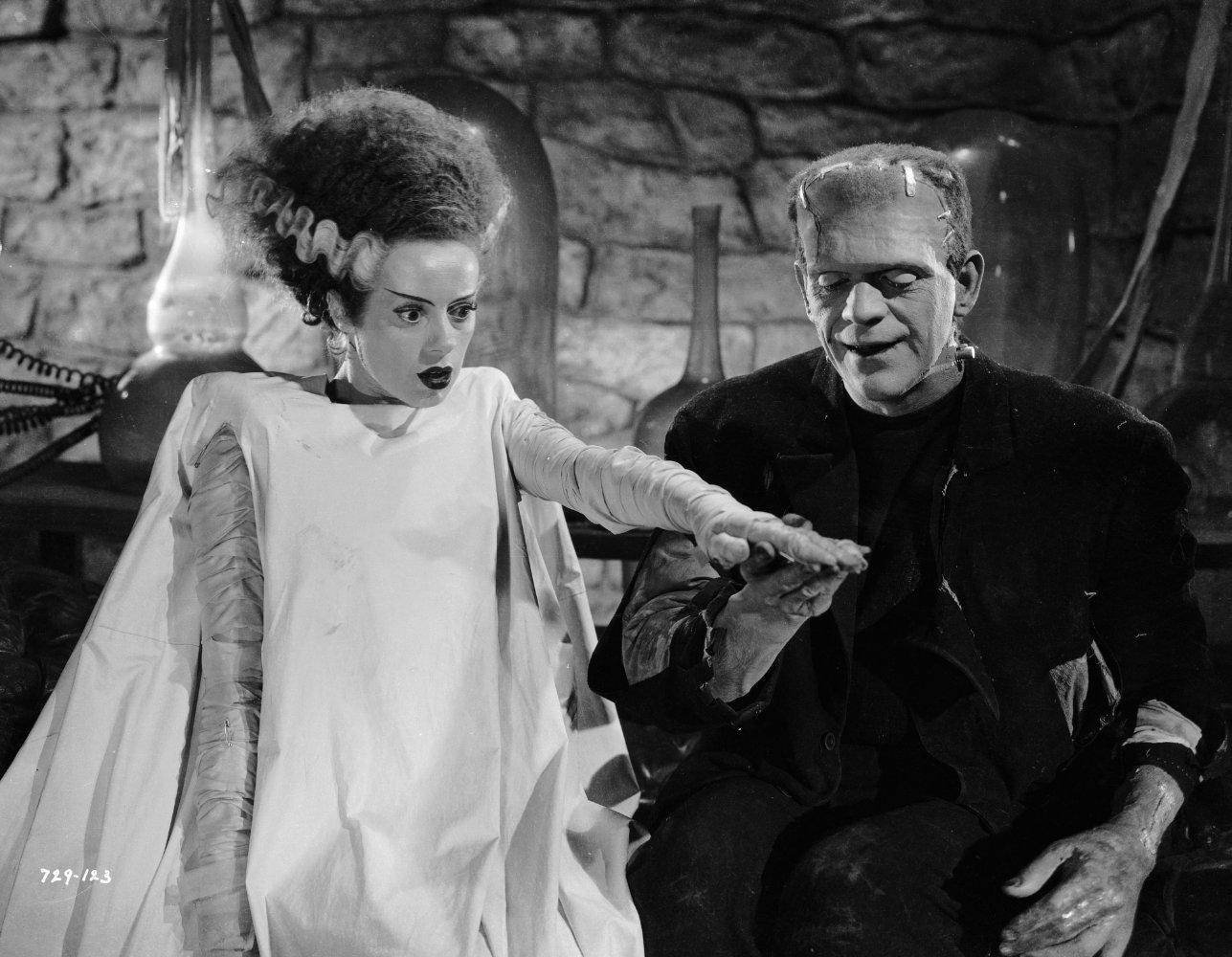 "Scene from the film ""The Bride of Frankenstein"""