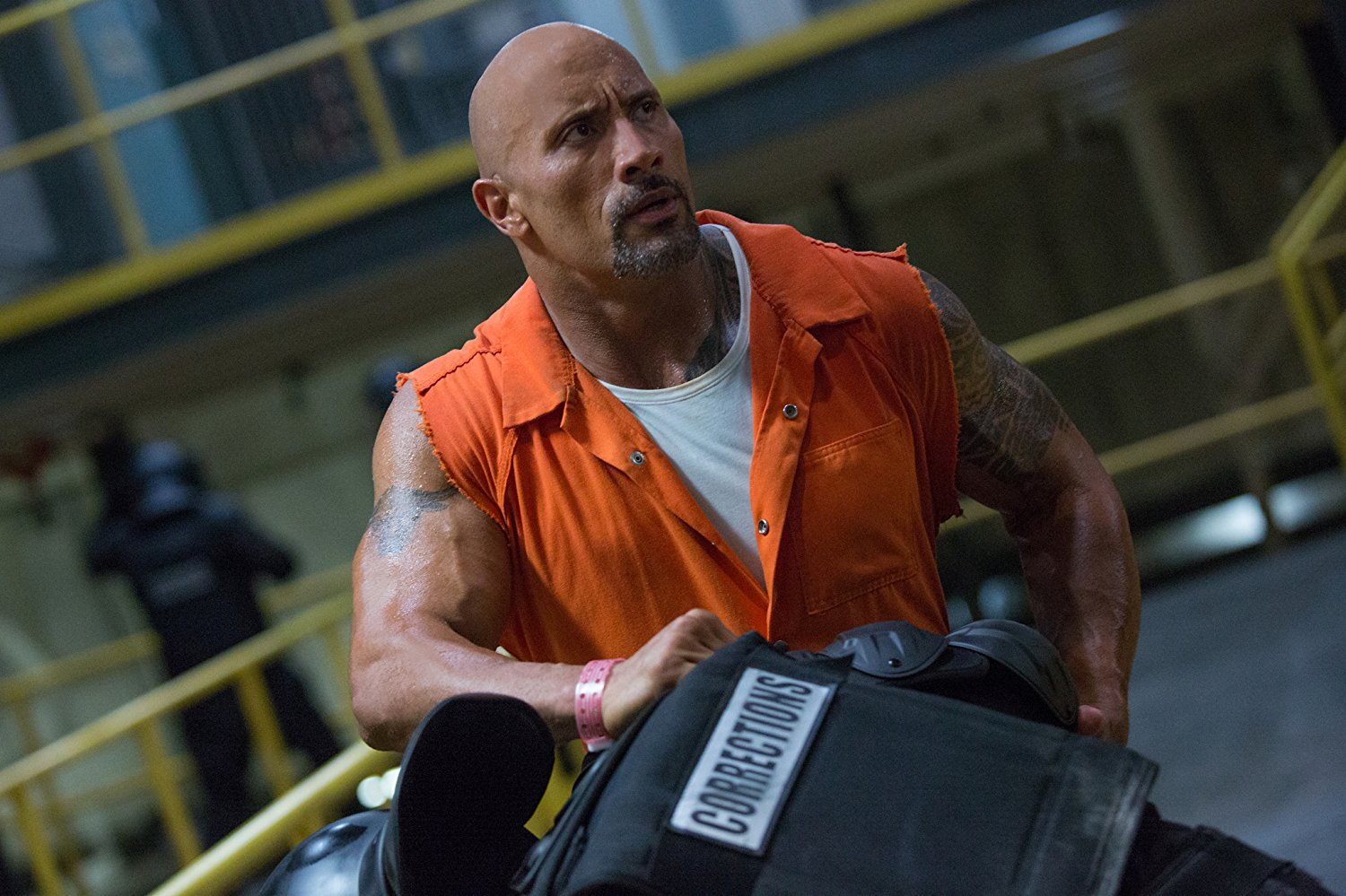 """Shot from the movie """"Fast and the Furious 8"""""""