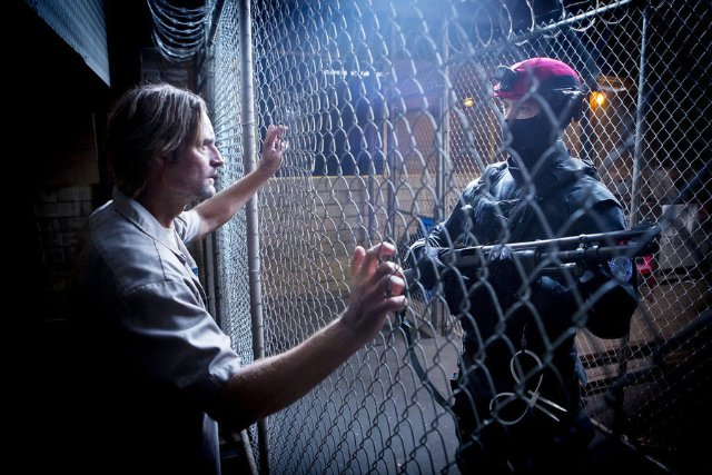 """Shot from the series """"Colony"""""""