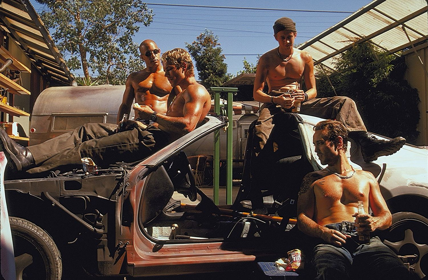 """Shot from the movie """"Fast and Furious"""""""