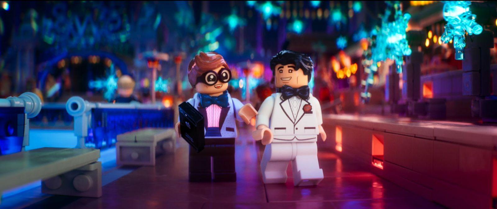 """Кадр из мультфильма """"Лего. Фильм: Бэтмен"""""""