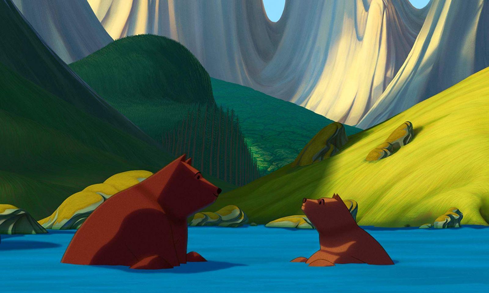 """Кадр из мультфильма """"Знаменитое вторжение медведей на Сицилию"""""""