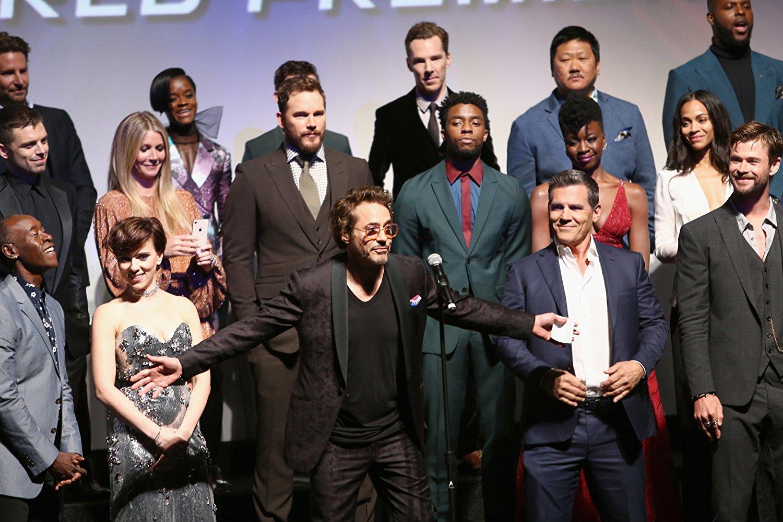 Премьера фильма «Мстители: Война бесконечности»