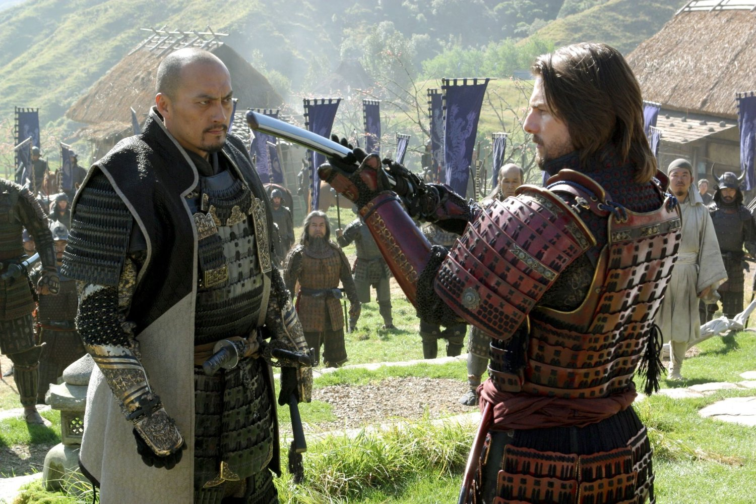 "Shot from the movie ""The Last Samurai"""
