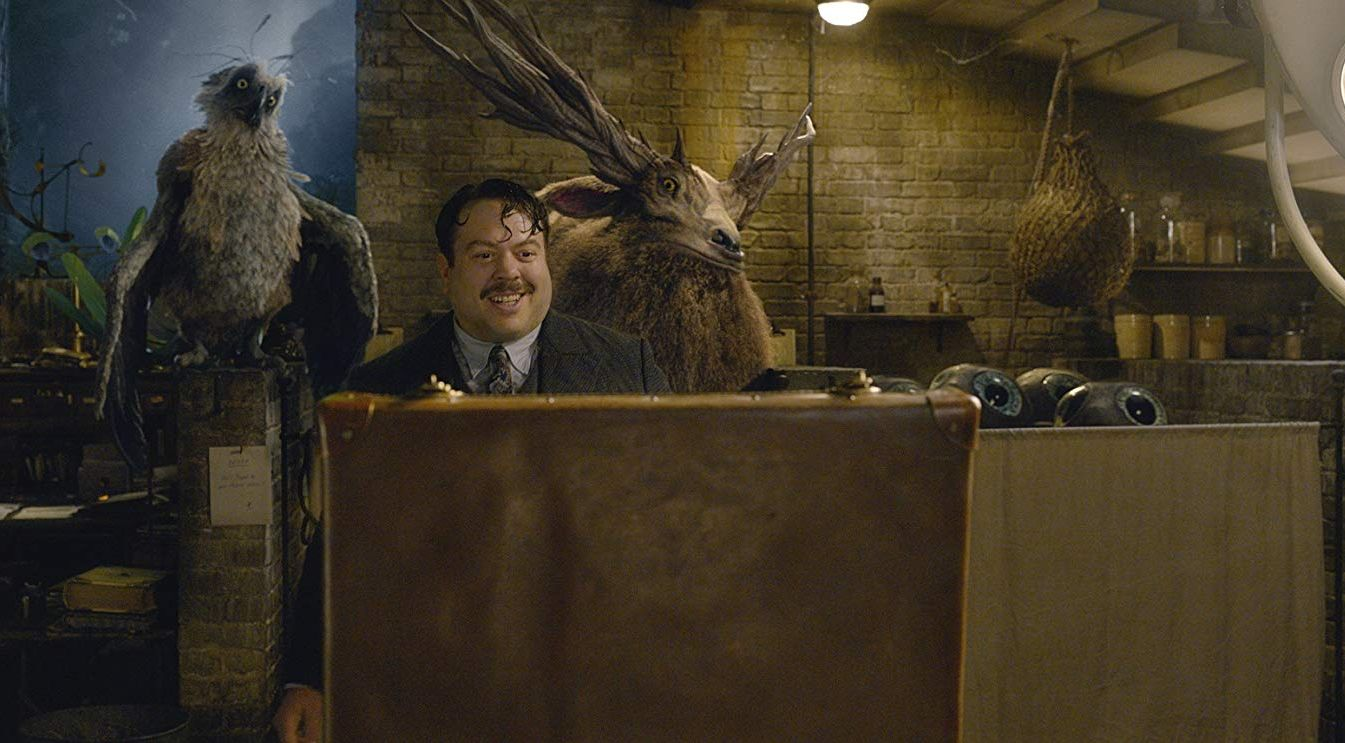 "Shot from the movie ""Fantastic Beasts: Crimes of Green de Wald"""