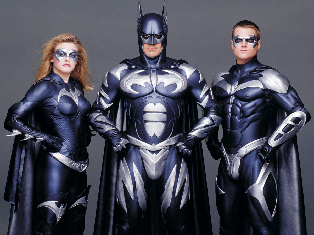 """Промо-кадр к фильму """"Бэтмен и Робин"""""""