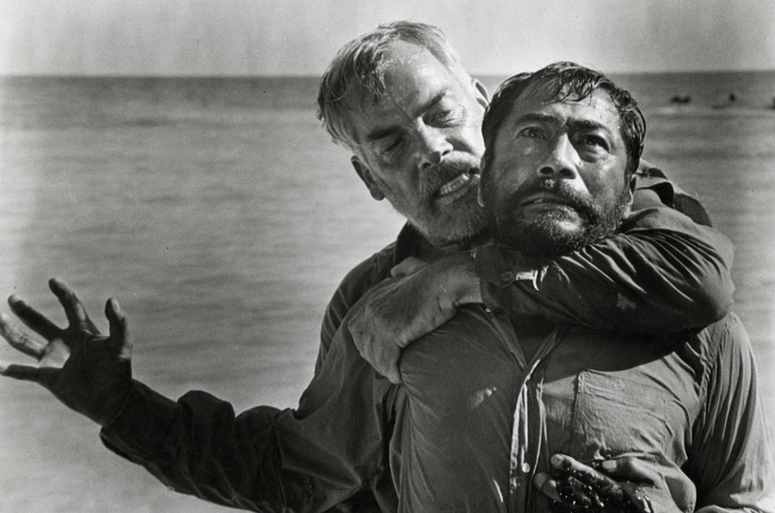 """Кадр из фильма """"Ад в Тихом океане"""""""