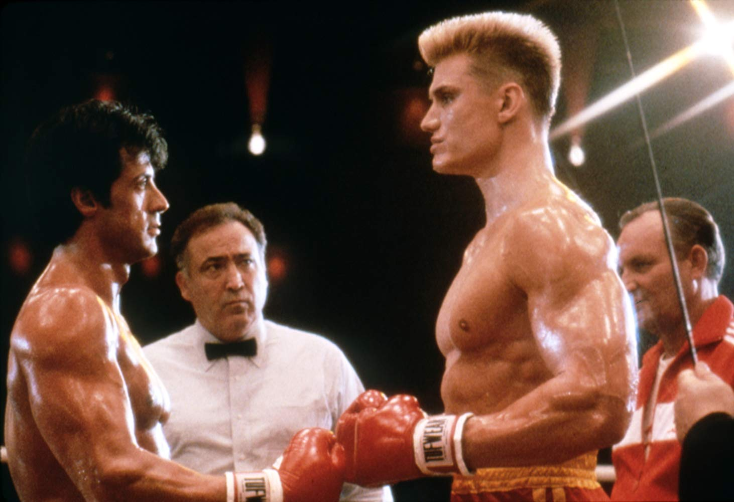 """Shot from the movie """"Rocky 4"""""""