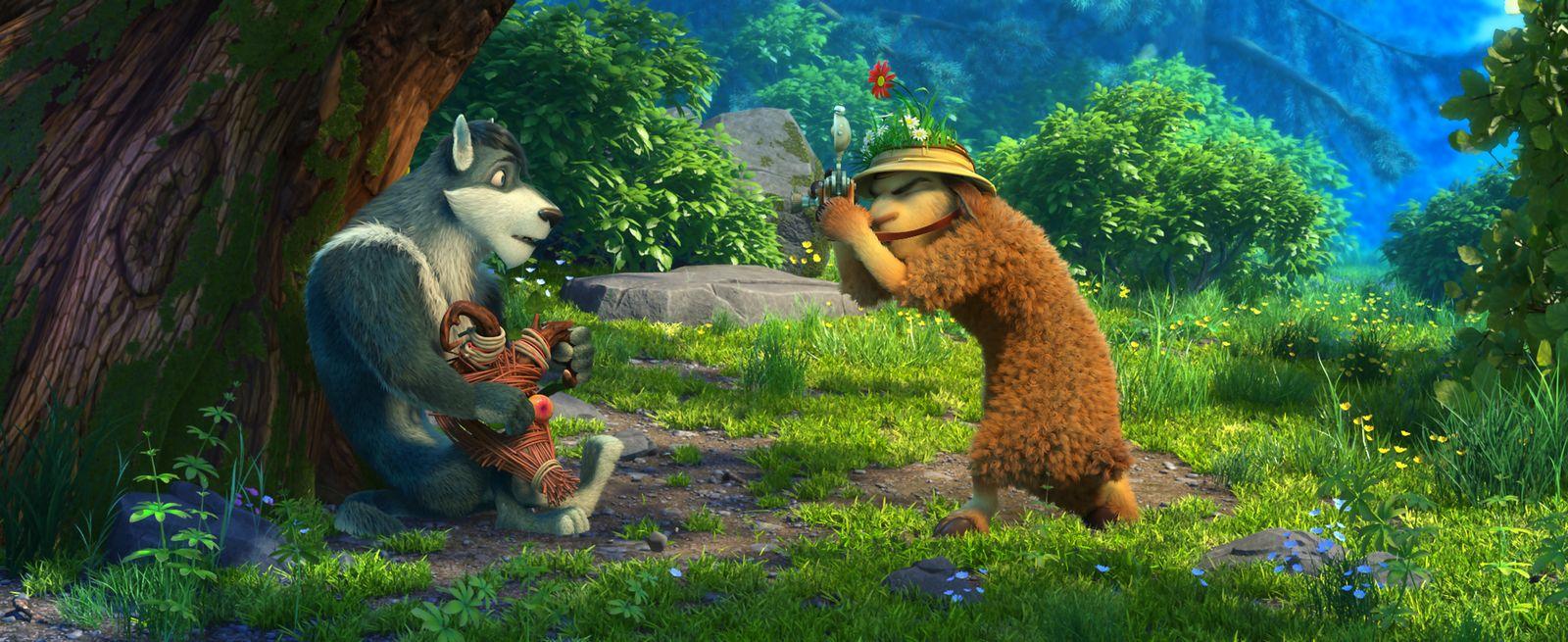 Мультфильм волки и овцы бе-е-е-зумное превращение