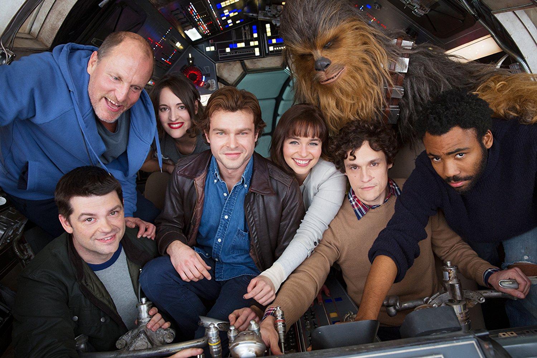 """Промо-кадр к фильму """"Хан Соло: Звёздные Войны. Истории"""""""