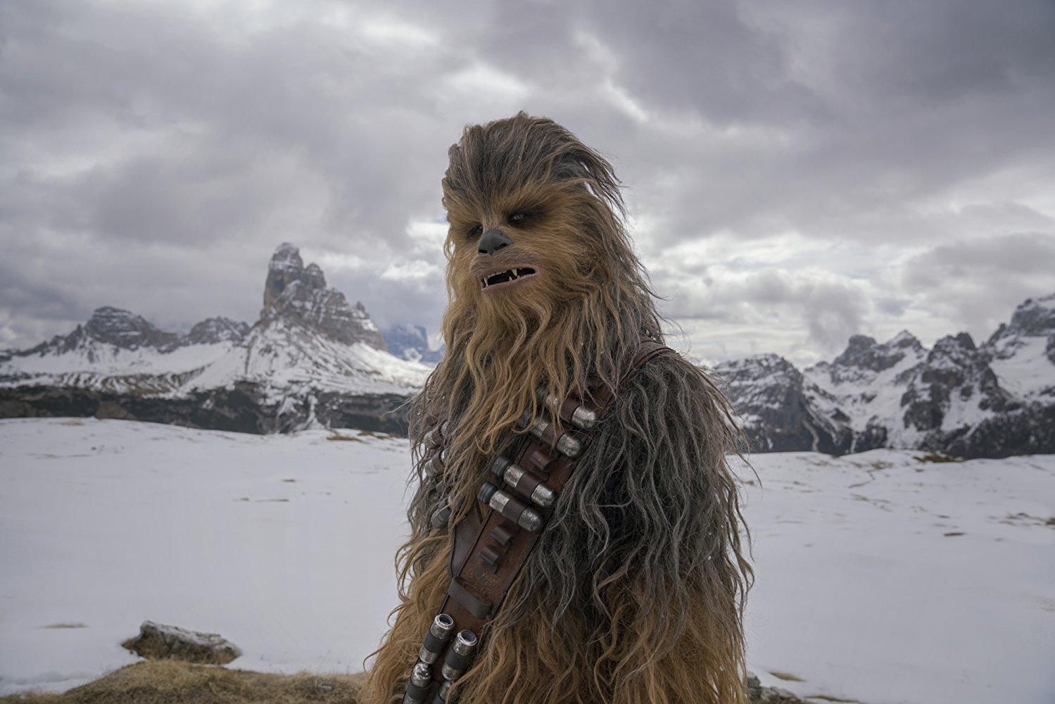 Кадр из фильма «Хана Соло: Звездные войны. Истории»
