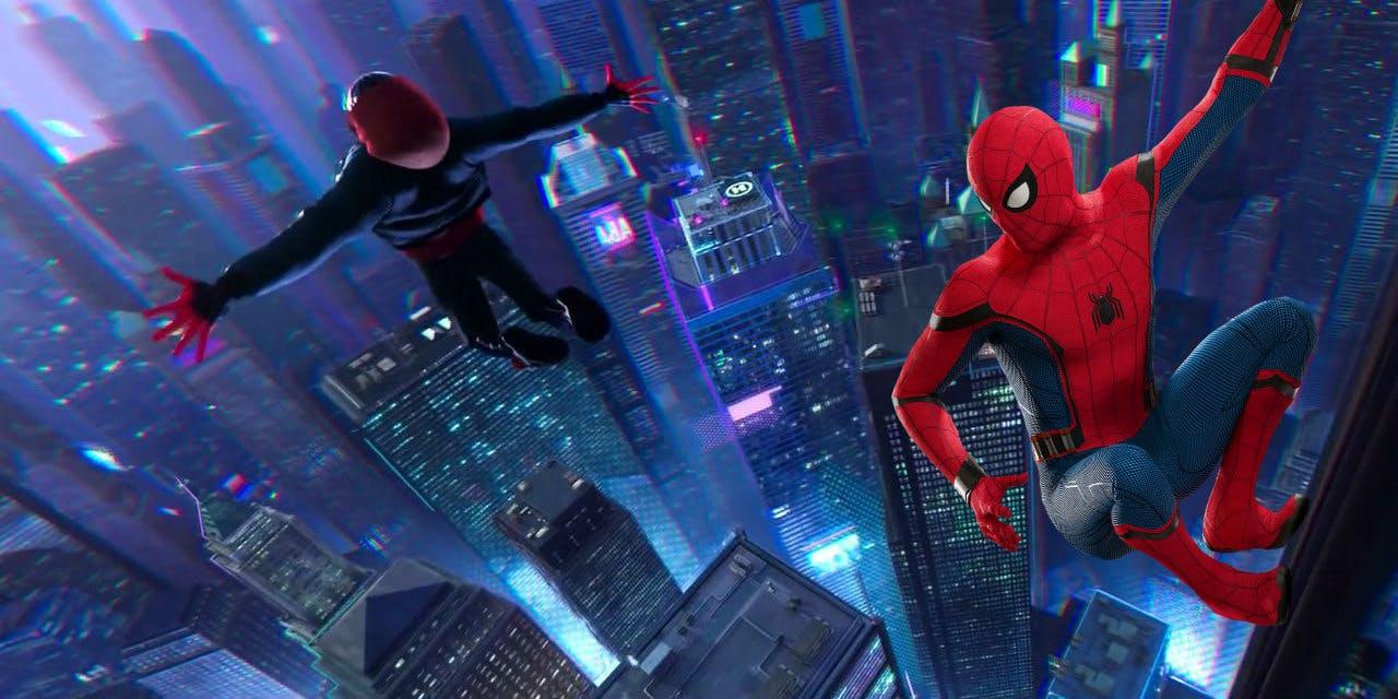 Трейлер анимации «Человек-паук: Через вселенные»