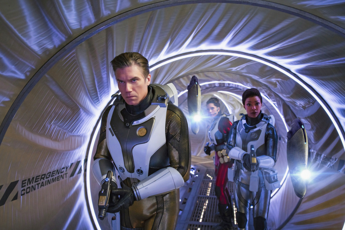 """Shot from the series """"Star Trek: Discovery"""""""