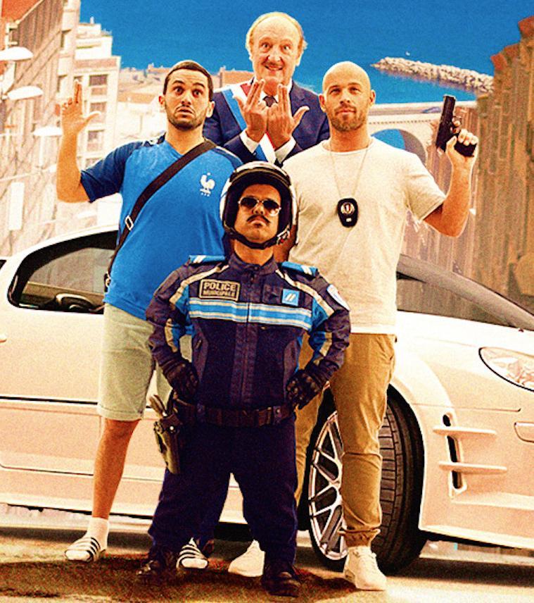 Промо-кадр к фильму «Такси 5»