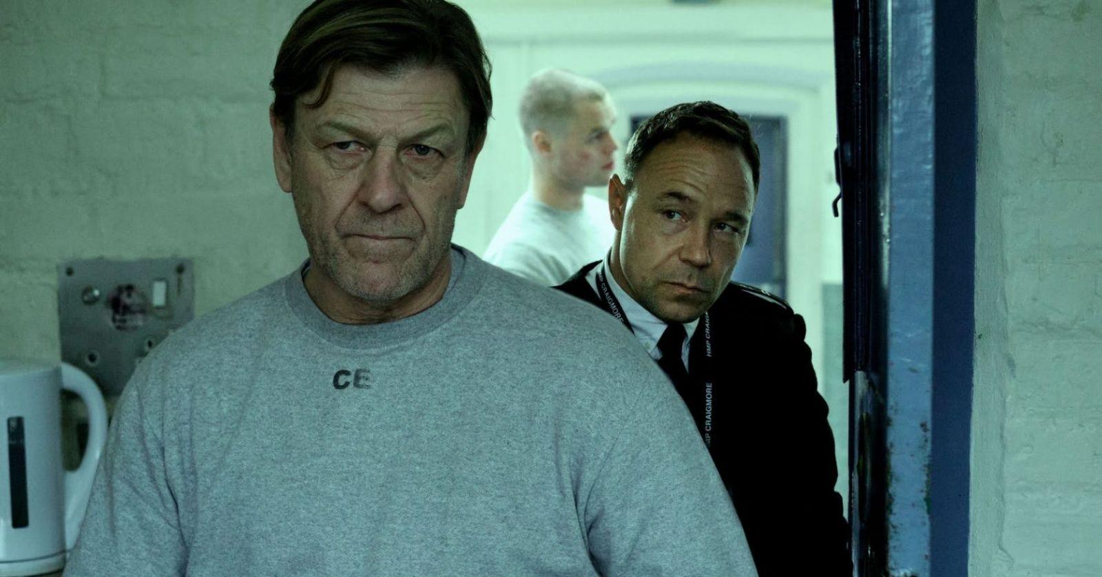 Шон Бин в роли Марка Кобдена на кадре из сериала «Срок»