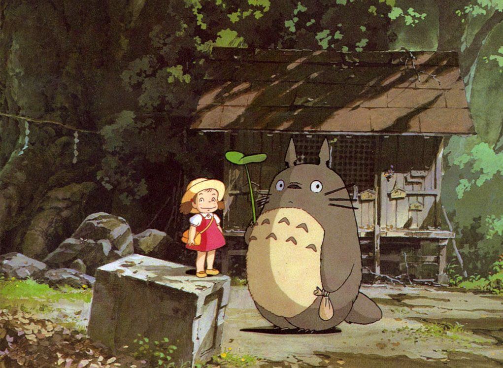 my neighbor totoro 2018-10-11  my neighbor totoro follow the adventures of satsuki and her four-year-old sister mei when they move into a new home in the countryside to their delight, they discover that their new neighbor is totoro, a mysterious forest spirit who can only be seen by children.