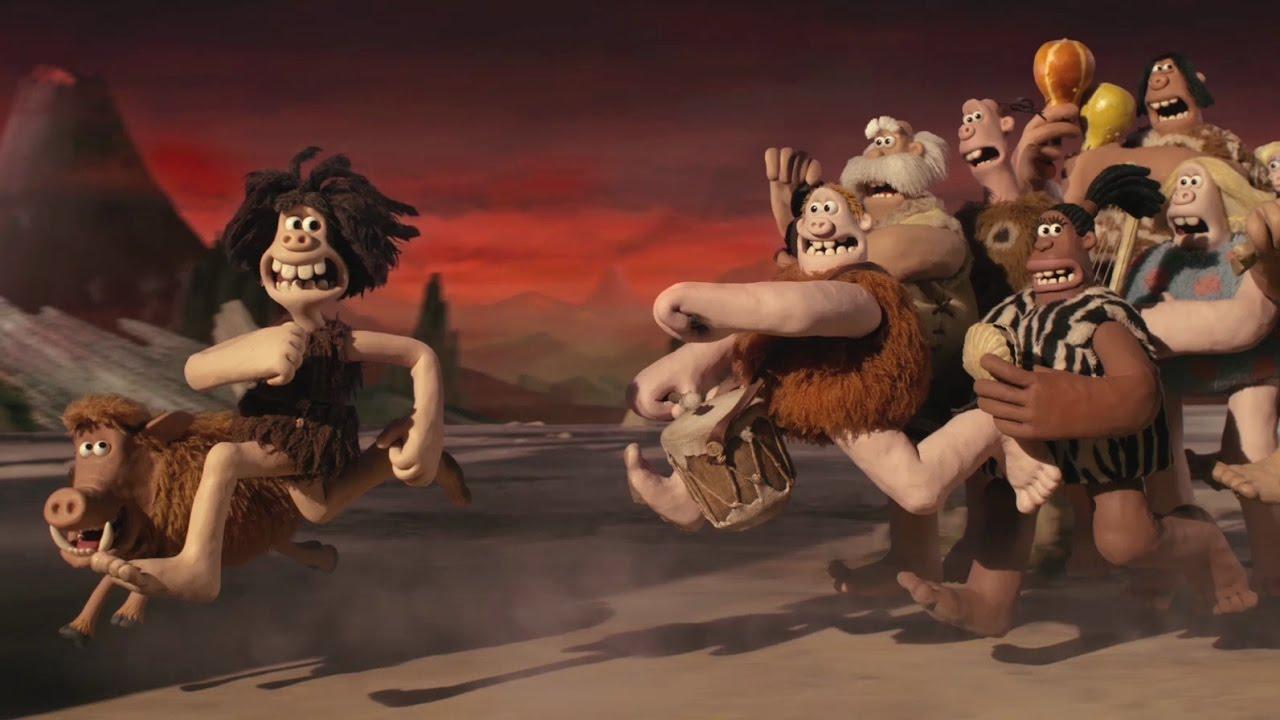 "A frame from the cartoon ""Wild ancestors"""