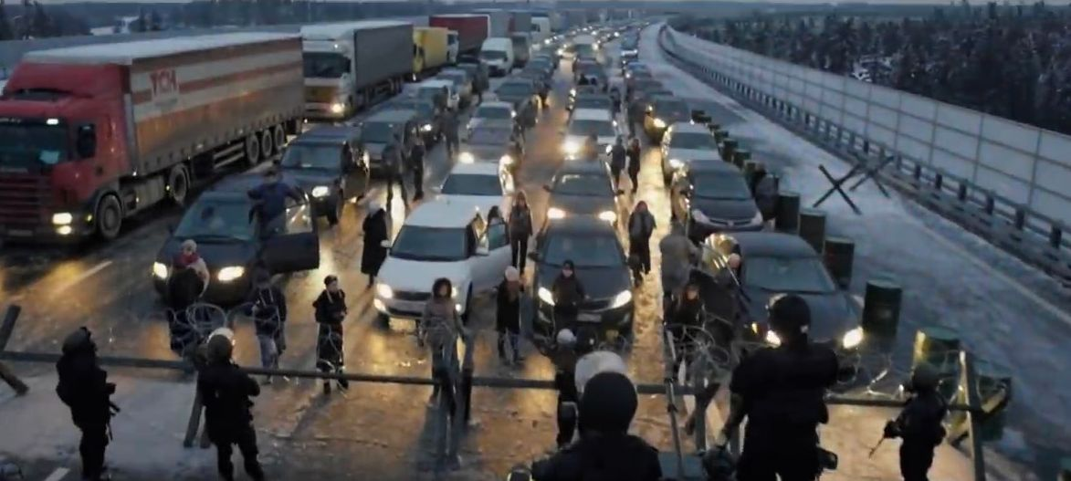 Кадр из фильма «Эпидемия: Вонгозеро»