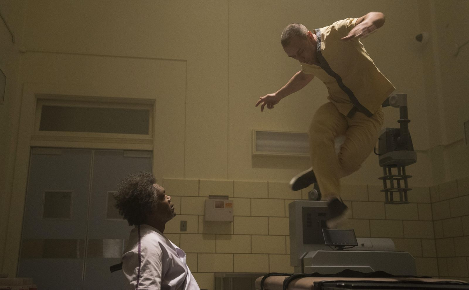 """Frame from the film """"Glass"""""""