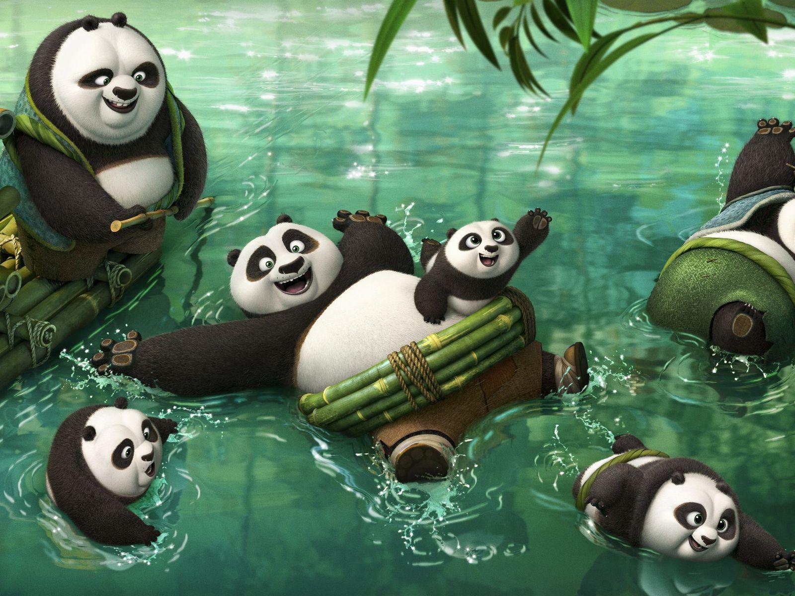 Панда конфу секс