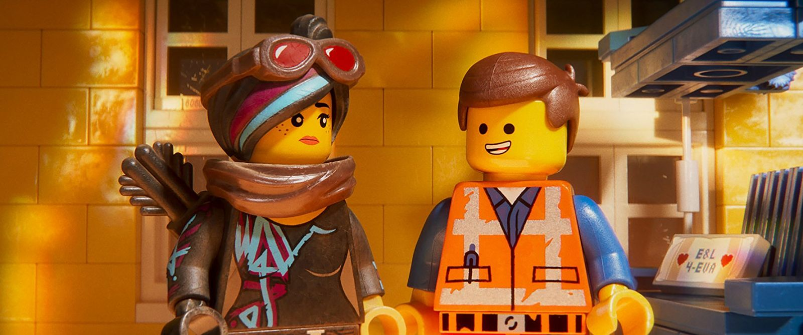 "Frame from the cartoon ""Lego Film 2"""