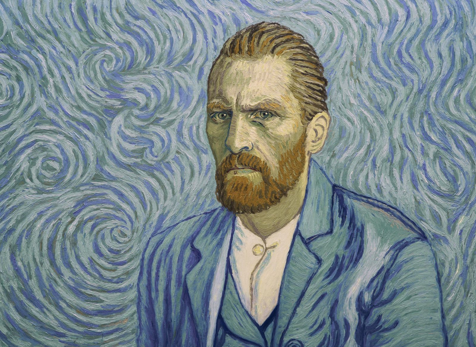 """A shot from the animated film """"Van Gogh. With love, Vincent """""""