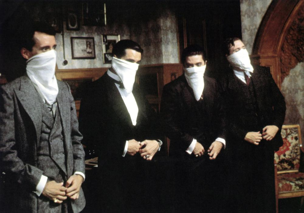 "Shot from the film ""Once Upon a Time in America"""