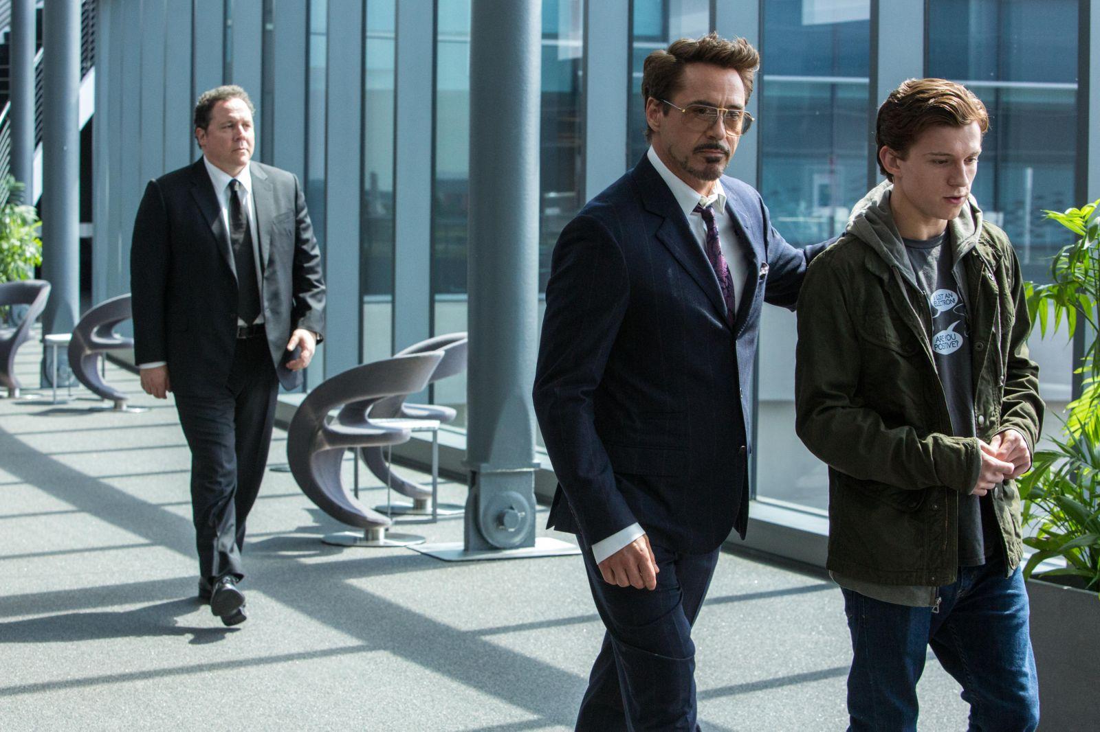 Кадр из фильма «Человек-паук: Возвращение домой