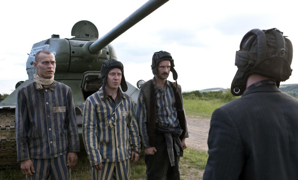 """Shot from the movie """"T-34"""""""