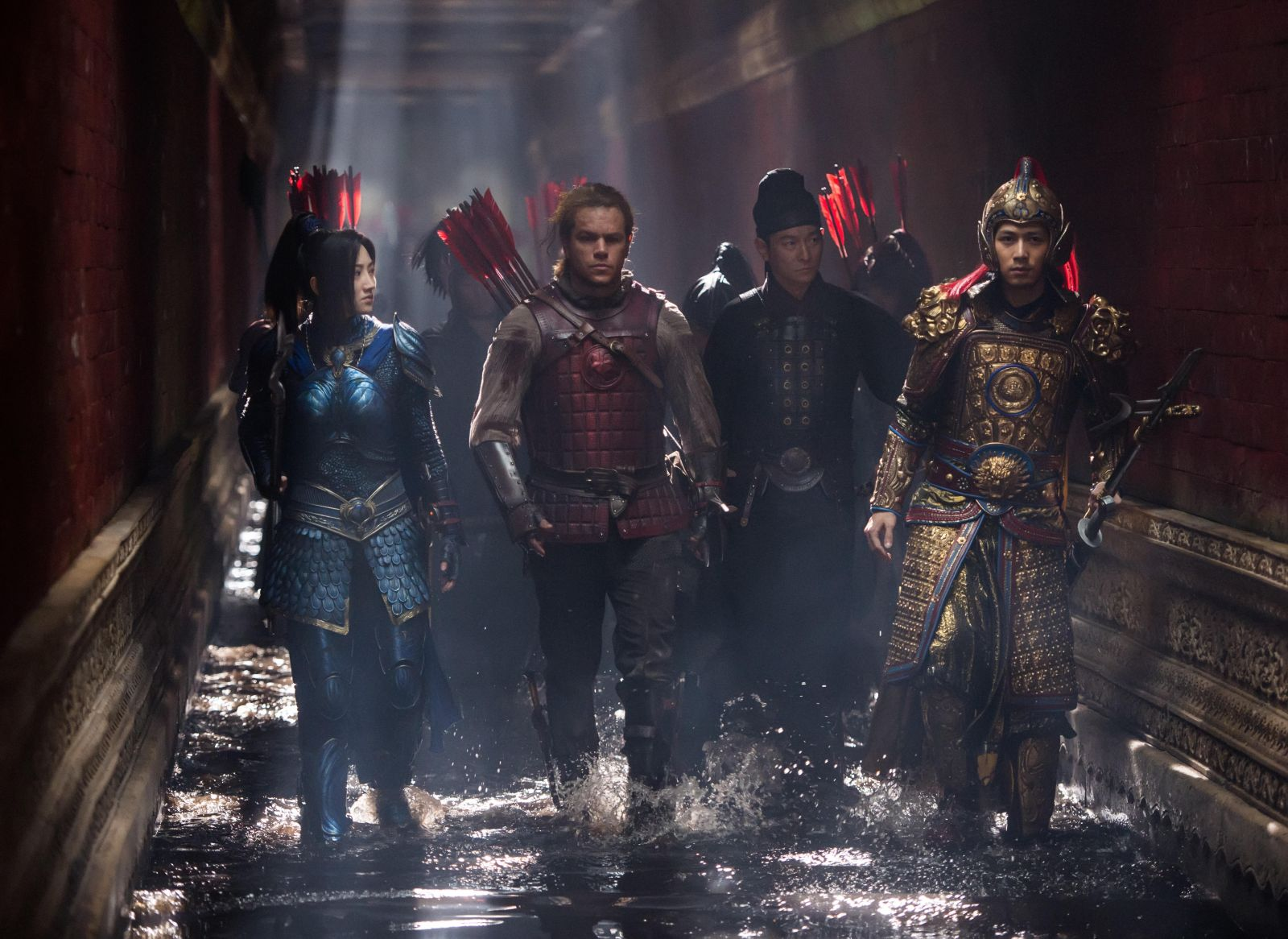 """Shot from the movie """"The Great Wall"""""""