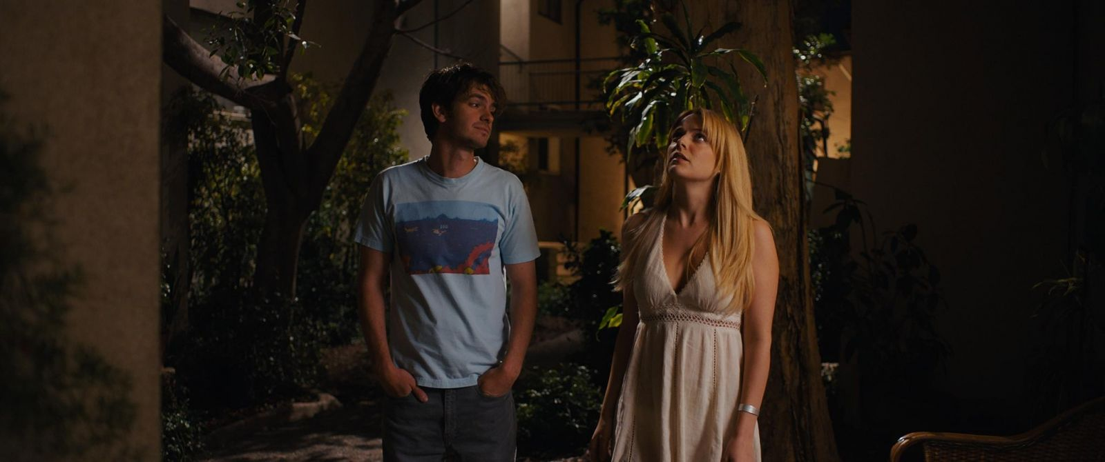 "Shot from the movie ""Under Silver Lake"""