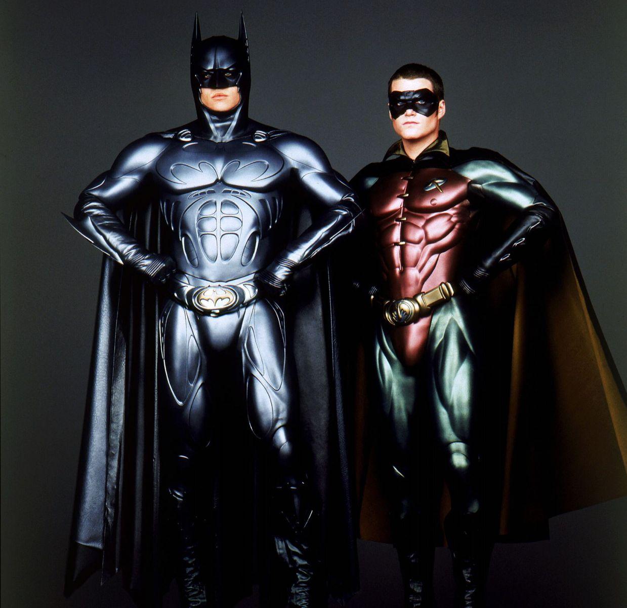 "Промо-кадр к фильму ""Бэтмен навсегда"""
