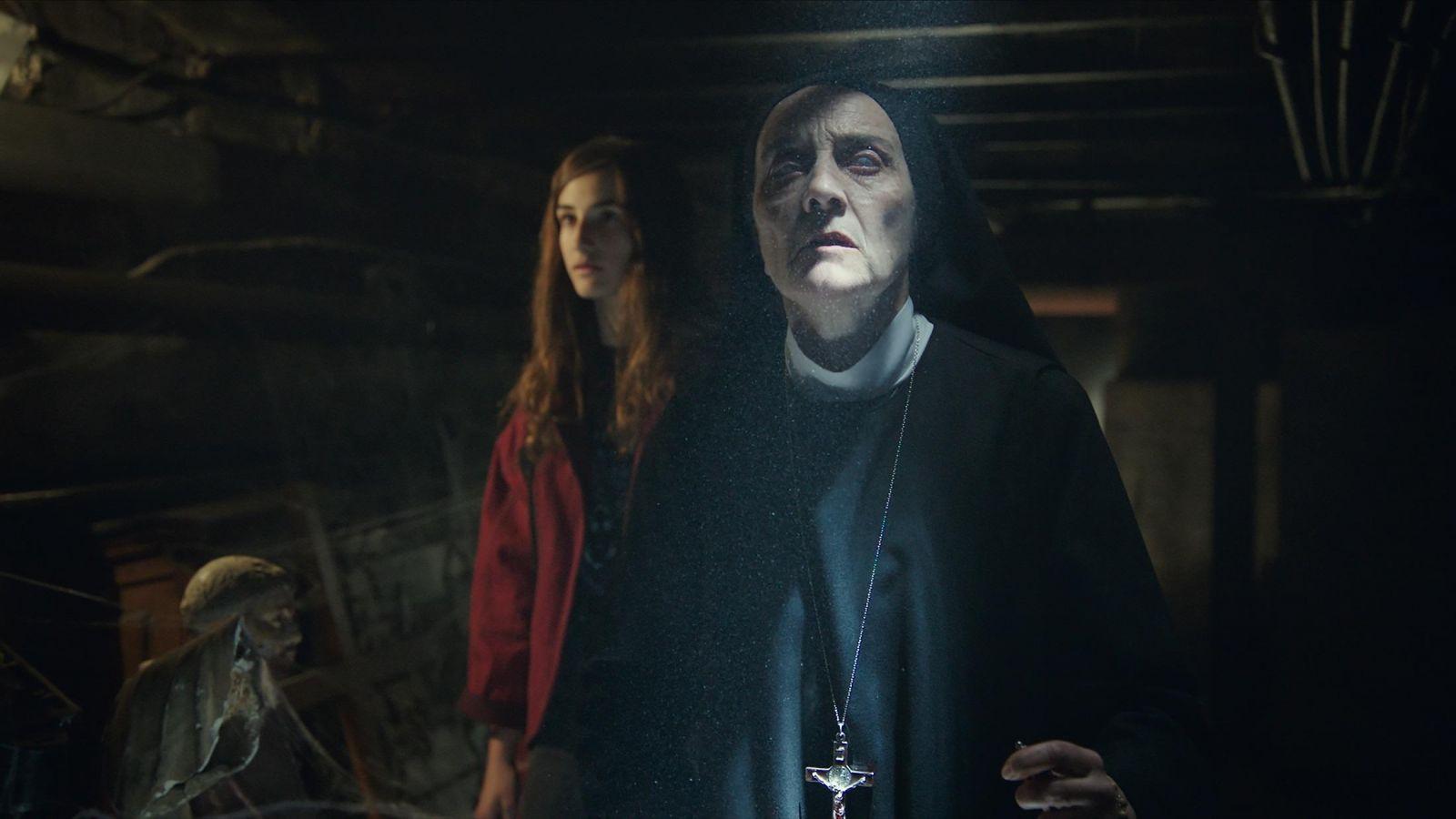 Кадр из фильма «Уиджи: Проклятие Вероники»