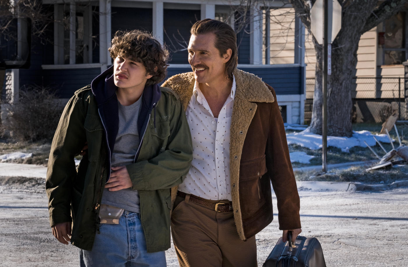 "Shot from the movie ""White Boyfriend Rick"""