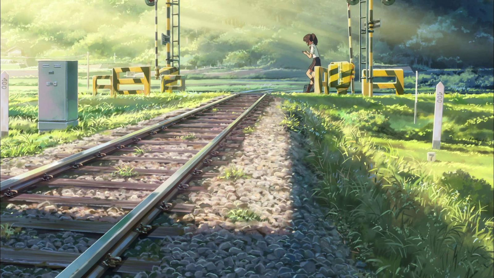 """Shot from the cartoon """"Your name"""""""